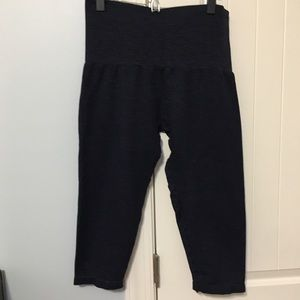 Dark Blue Crop Pants